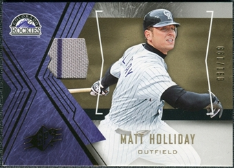 2005 Upper Deck SPx Jersey #85 Matt Holliday /199