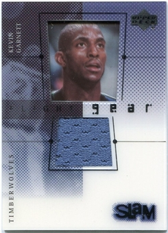 2000/01 Upper Deck Slam Flight Gear #KGG Kevin Garnett Blue