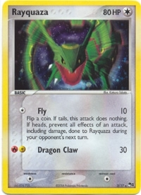 Pokemon Promo Single Rayquaza 3/17