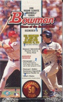 1998 Bowman Series 1 Baseball Hobby Box