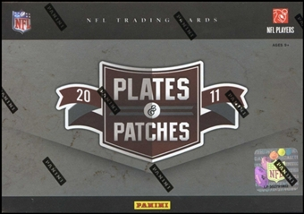 2011 Panini Plates and Patches Football Hobby 15-Box Case - DACW Live Random Team Break