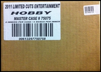 2011 Panini Limited Cuts Hobby 12-Box Case