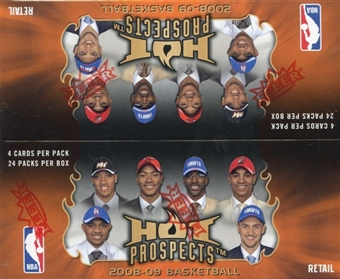 2008/09 Fleer Hot Prospects Basketball 24-Pack Box