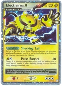 Pokemon Mysterious Treasures Single Electivire 121/123