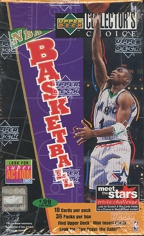 1996/97 Upper Deck Collector's Choice Series 1 Basketball Pre-Priced Box