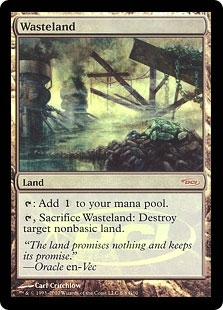 Magic the Gathering Promo Single Wasteland Foil (Judge Promo)