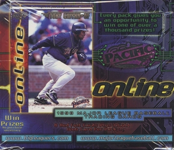 1998 Pacific Online Baseball Retail Box