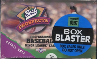 1997 Best Prospects Baseball Blaster Box