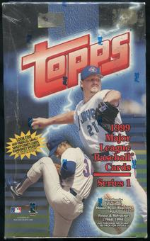 1999 Topps Series 1 Baseball Retail 36-Pack Box