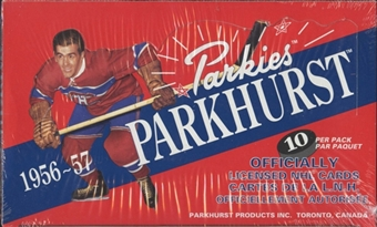1994/95 Parkhurst 56/57 Parkies French Hockey Hobby Box