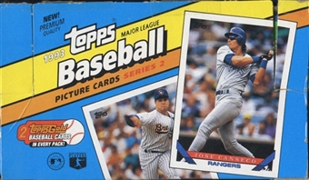 1993 Topps Series 2 Baseball Retail Box