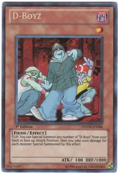 Yu-Gi-Oh Photon Shockwave Single D-Boyz Secret Rare