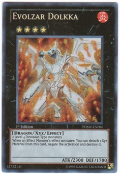 Yu-Gi-Oh Collector Tin Single Evolzar Dolkka Secret Rare (CT09)