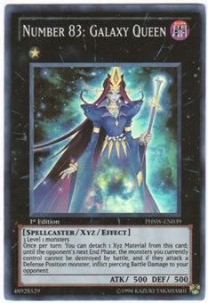 Yu-Gi-Oh Photon Shockwave Single Number 83: Galaxy Queen Super Rare