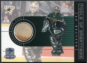 1999/00 Upper Deck Wayne Gretzky Hockey Tools of Greatness #TGEB Ed Belfour