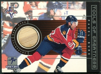 1999/00 Upper Deck Wayne Gretzky Hockey Tools of Greatness #TGPB Pavel Bure