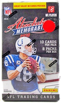 2010 Panini Absolute Memorabilia Football 8-Pack Blaster 3-Box Lot