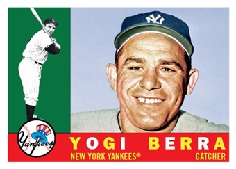 2010 Topps Heritage 1960 National Convention VIP #576 Yogi Berra