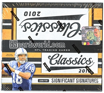2010 Panini Classics Football 24-Pack Box