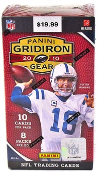 2010 Panini Gridiron Gear Football 8-Pack Blaster 3-Box Lot