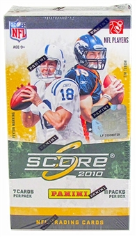 2010 Score Football 11-Pack Blaster 5-Box Lot