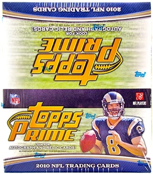 2010 Topps Prime Football Retail 24-Pack Box