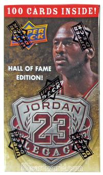 2009/10 Upper Deck Michael Jordan Legacy Hall of Fame Edition Factory Set (Extremely Rare!)