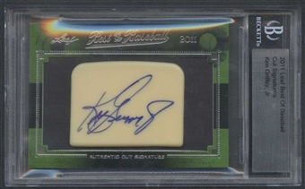 2011 Leaf Best of Baseball Ken Griffey Jr. Auto