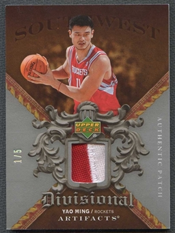 2007/08 Upper Deck Artifacts Basketball Yao Ming Patch #1/5