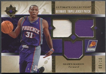 2006/07 Upper Deck Ultimate Collection Basketball Shawn Marion Patch #09/10