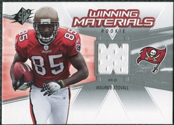 2006 Upper Deck SPx Rookie Winning Materials #WMRMS Maurice Stovall