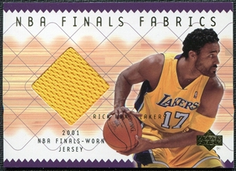 2001/02 Upper Deck NBA Finals Fabrics Rick Fox #RFF Jersey