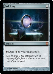 Magic the Gathering From the Vault: Relics Single Sol Ring Foil