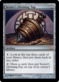 Magic the Gathering From the Vault: Exiled Single Sensei's Divining Top Foil