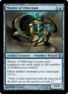 Magic the Gathering Duel Deck Single Master of Etherium - NEAR MINT (NM)