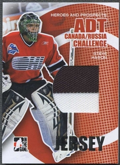 2008/09 In The Game Heroes and Prospects Hockey Steve Mason Jersey /29
