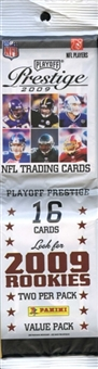 2009 Playoff Prestige Football Value Pack Lot (24 Packs)