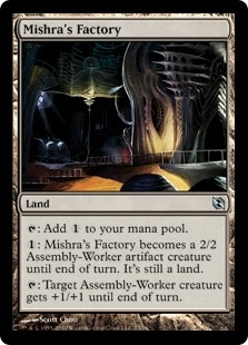 Magic the Gathering Duel Deck Single Mishra's Factory - NEAR MINT (NM)