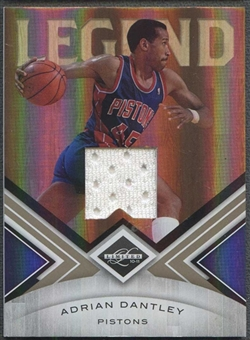 2010/11 Panini Limited Basketball Adrian Dantley Jersey #06/10