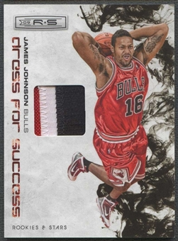 2009/10 Rookies & Stars Basketball James Johnson Rookie Patch #06/50