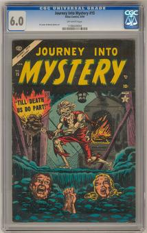 Journey Into Mystery #15 CGC 6.0 (OW) *1106649004*