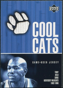 2001/02 Upper Deck Cool Cats Jerseys #TDC Tony Delk