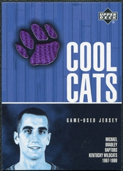 2001/02 Upper Deck Cool Cats Jerseys Michael Bradley #BRC Purple