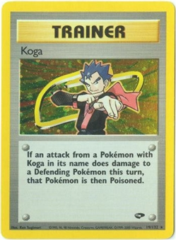 Pokemon Gym Challenge Single Trainer Koga 19/132