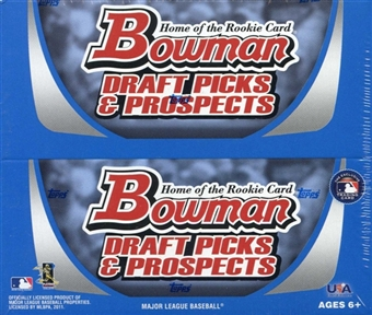 2011 Bowman Draft Picks & Prospects Baseball 24-Pack Box
