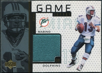1998 Upper Deck Game Jerseys #GJ11 Dan Marino