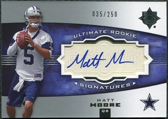 2007 Ultimate Collection #151 Matt Moore RC Auto 35/250