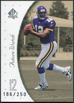 1999 SP Authentic Excitement #99 Daunte Culpepper RC 186/250