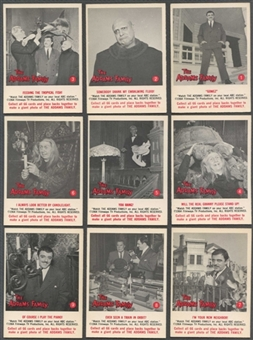 Addams Family Partial Set (1964 Donruss) (EX-MT+ Condition) Missing 1 Card