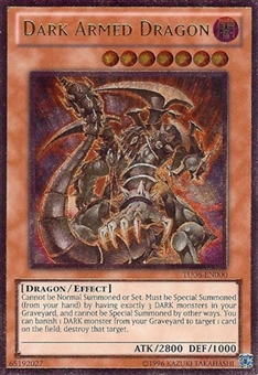 Yu-Gi-Oh Turbo Pack Single Dark Armed Dragon Ultimate Rare TU06 - NEAR MINT (NM)